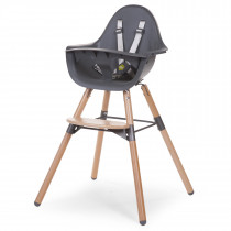 Evolu 2 Chair 2-in-1 + Bumper - Natural - Anthracite