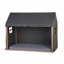 Tipi Bed Frame House Cover 90x200cm - Anthracite