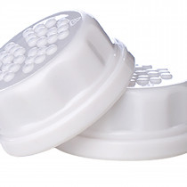 Solid Caps 2 Pack -  White