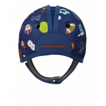 Soft Helmet For Babies Learning To Walk - Sporty Blue