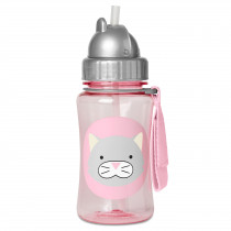 Zoo Straw Bottle Winter - Cat