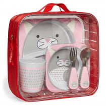 Zoo Mealtime Gift Set Winter - Cat