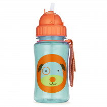 Zoo Straw Bottle - Dog