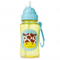 Zoo Straw Bottle - Giraffe