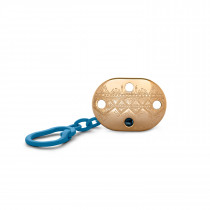 SUAVINEX  PREMIUM SOOTHER CHAIN DARK BLUE L1