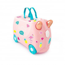 Trunki - Flossi Rose Gold Flamingo