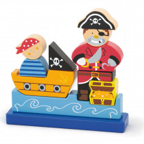 Magnetic Standing Puzzle - Pirate