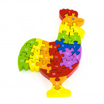 3D Puzzle - Rooster