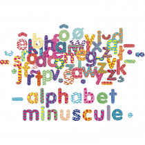 Magnets 81 Pieces − Alphabet Lowercase Letters