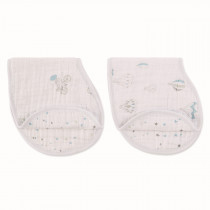 Classic 2 Pack Burpy Bibs - Night Sky Reverie