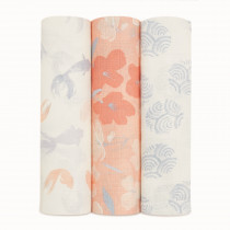 Silky Soft 3 Pack Swaddles - Koi Pond