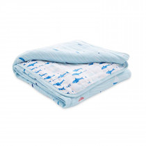 Essentials Muslin Blanket - Making Waves Sailboats