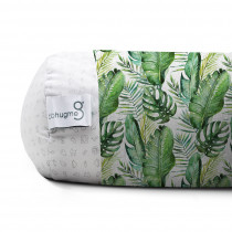 Pregnancy Pillow Cover Green Leaf