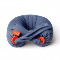 Pregnancy Pillow in Dusty Blue / Orange