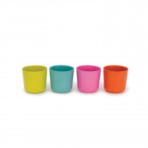 Bambino Small Cup Set POP - Lagoon, Lime, Persimmon, Rose