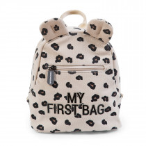Kids My First Bag  Canvas Leopard