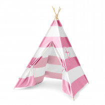 Pink Stripes Teepee