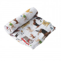 Cotton Swaddle-Woof