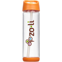 Pip 18oz Straw Water Bottle - Orange
