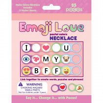 Pastel colour Necklace Kit- 25 pcs