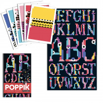 Sticker Poster - Alphabet