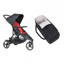 Dot Buggy & Cocoon Package - Chilli