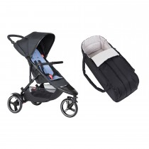 Dot Buggy & Cocoon Package - Sky