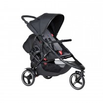 Dot Buggy Double - Charcoal
