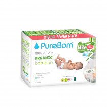 Pureborn NB Value Pack 0-4.5kg136's - Tropic