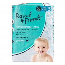 Rascals + Friends Nappies Crawler (6-11KG - 50PK)