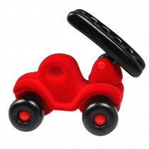 Soft Baby Educational Toy- Fireman Rubba Engine  Large-Red