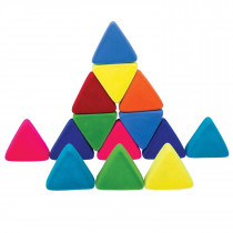 Rubbablox-Soft Baby Educational Toy-  Just Triangles