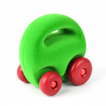 Soft Baby Educational   Toy-Original Mascot Car- Green