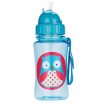 Zoo Straw Bottle - Owl