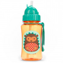 Zoo Straw Bottle - Hedgehog