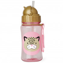 Zoo Straw Bottle - Leopard