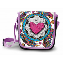 Magic Sequin Messenger Bag