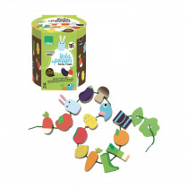 Large Beads Set -Vegetable Garden