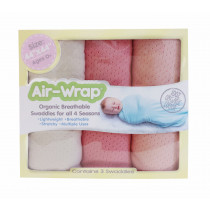 Old Fashioned Air Wrap - Cream, Pale Peach, Rose