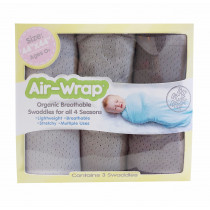 Old Fashioned Air Wrap - Monochromatic (Liht Gray, Medium Gray, dark gray)