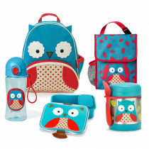 Zoo Nursery & pre-school lunch essentail Bundle  - Owl