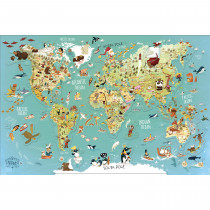 World Magnetic Map
