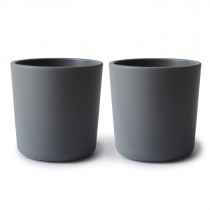 Dinnerware Cup Set of 2 - Smoke