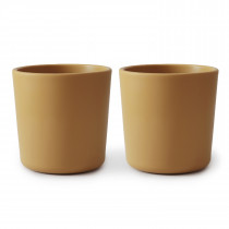 Dinnerware Cup Set of 2 - Mustard
