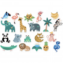 Magnets 20 Pieces - Jungle