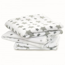 3 Pack Musy Muslin Squares - Twinkle