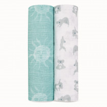 Classic 2 Pack Swaddles - Now + Zen