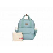Georgi Convertible Diaper Bag -Aqua