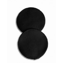 Washable Breast Pads,Pack of 6 (Black)