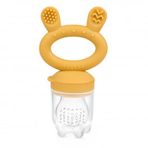 Fresh Food Feeder and Teether - Mustard